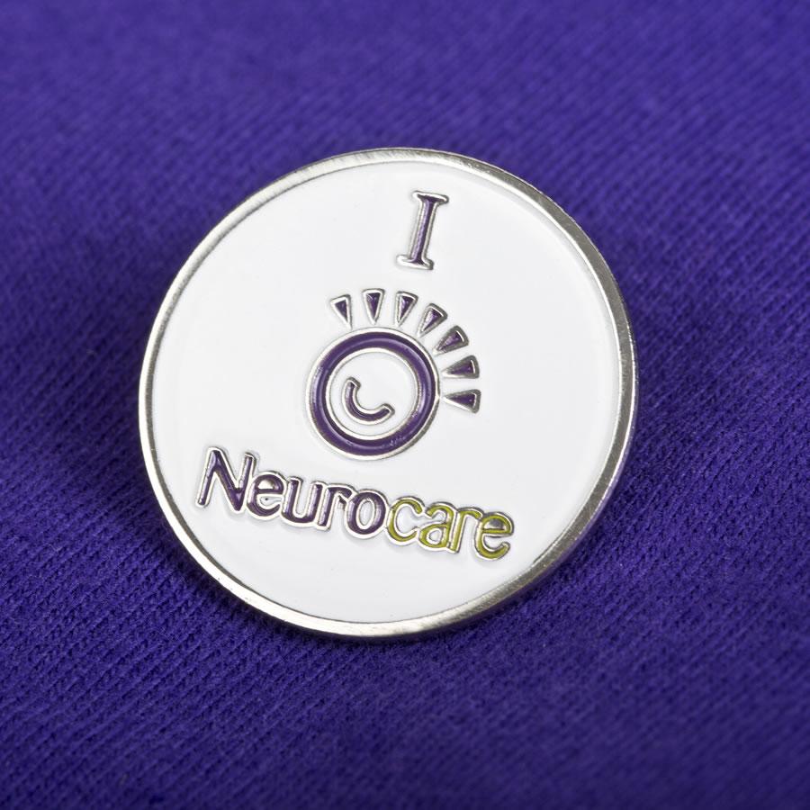 neurocare lapel pin
